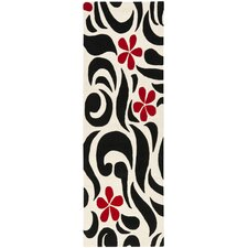 Soho Ivory/Black/Red Rug
