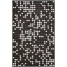 Soho Black/White Area Rug
