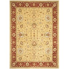 Tuscany Gold/Red Rug