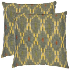 <strong>Safavieh</strong> Taylor Cotton Decorative Pillow (Set of 2)