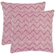 <strong>Safavieh</strong> Victor Cotton Decorative Pillow (Set of 2)