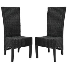<strong>Safavieh</strong> Charlotte Wicker Parson Chair