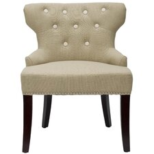 <strong>Safavieh</strong> Jack Tufted Fabric Slipper Chair