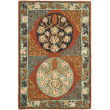 Antiquities Rust/Blue Rug