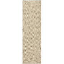 Braided Beige/Brown Rug