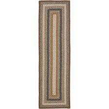 Braided Brown/Multi Rug