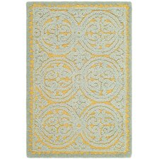 <strong>Safavieh</strong> Cambridge Blue/Gold Rug