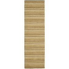 Impressions Brown Stripe Area Rug