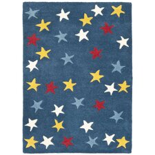 Blue/Multi Novelty Rug