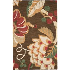 Jardin Brown/Multi Floral Rug