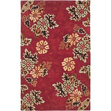 <strong>Safavieh</strong> Jardin Red/Multi Rug