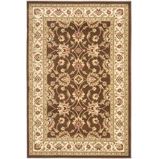 Lyndhurst Brown/Ivory Persian Rug