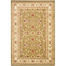 Lyndhurst Green/Ivory Persian Area Rug