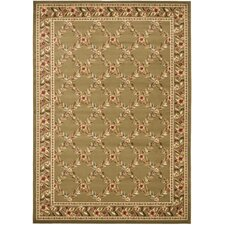 Lyndhurst Green/Green Checked Rug