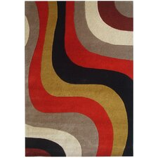 Rodeo Drive Red Area Rug