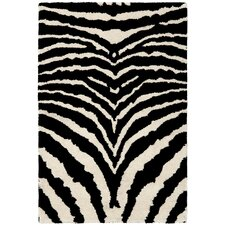 Soho White/Black Rug