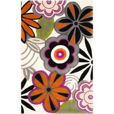 Soho Ivory/Multi Floral Rug