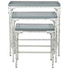 Clark 3 Piece Nesting Tables