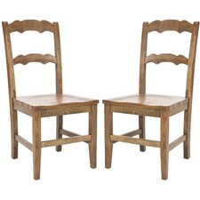 <strong>Safavieh</strong> Maci Side Chair (Set of 2)