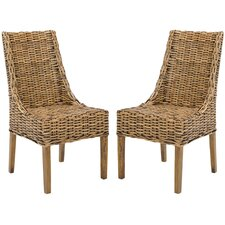 <strong>Safavieh</strong> Stacy Arm Chair (Set of 2)