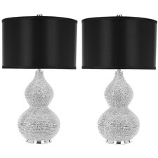 Leah Beaded Table Lamp (Set of 2)