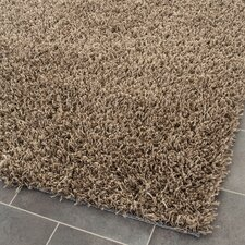Shag Light Brown Rug