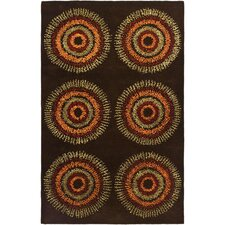 <strong>Safavieh</strong> Soho Brown / Gold Rug