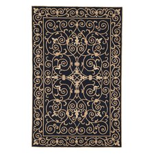 Chelsea Black Iron Gate Rug