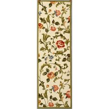 Chelsea Ivory/Green Area Rug