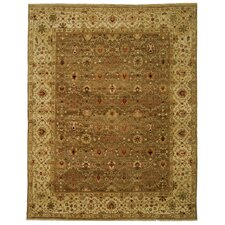 Old World Green/Ivory Rug
