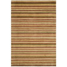 Tibetan Rust / Beige Geometric Rug