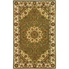 <strong>Safavieh</strong> Traditions Green / Ivory Rug