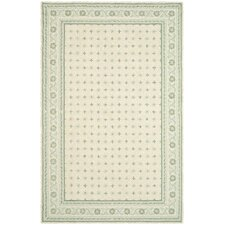 Wilton Beige / Light Blue Rug