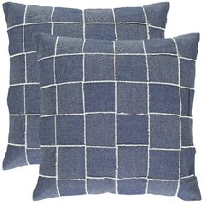 <strong>Safavieh</strong> Leonardo Cotton Decorative Pillow (Set of 2)