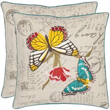 <strong>Safavieh</strong> Pam Cotton Decorative Pillow (Set of 2)