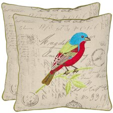<strong>Safavieh</strong> Becca Cotton Decorative Pillow (Set of 2)