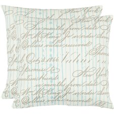 Jared Polyester Decorative Pillow (Set of 2)
