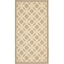 Courtyard Beige/Dark Beige Indoor/Outdoor Rug