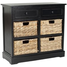 black accent cabinets