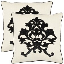 <strong>Safavieh</strong> Greyson Cotton Decorative Pillow (Set of 2)