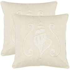 <strong>Safavieh</strong> Shawn Cotton Decorative Pillow (Set of 2)