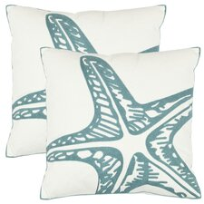 Edwin Cotton Decorative Pillow (Set of 2)
