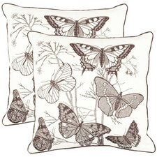 <strong>Safavieh</strong> Roberto Cotton Decorative Pillow (Set of 2)