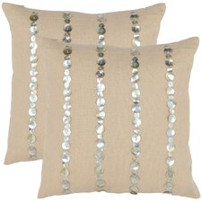<strong>Safavieh</strong> Zayden Cotton Decorative Pillow (Set of 2)