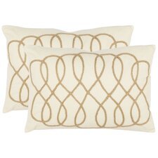 Gia Cotton Decorative Pillow (Set of 2)