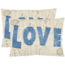<strong>Safavieh</strong> Mallory Cotton Decorative Pillow (Set of 2)