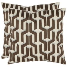 <strong>Safavieh</strong> Dawson Cotton Decorative Pillow (Set of 2)