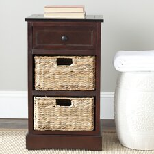 Milan Side Storage End Table