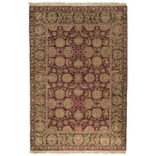 Old World Agra Burgundy Rug