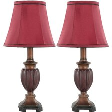 Round Bell Floor Table Lamp (Set of 2)